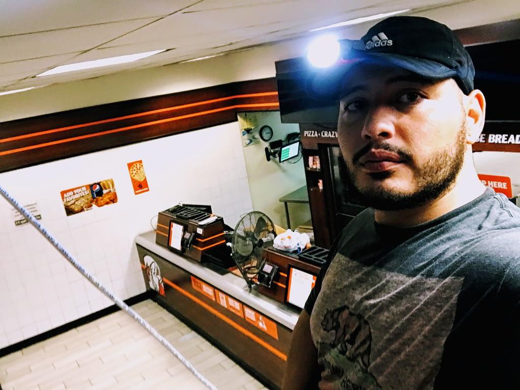 Restaurant CCTV installation Pizza